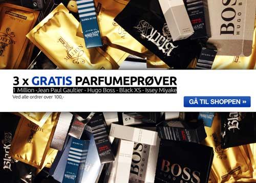 Image of 3 Gratis Luksus Parfumeprøver (Personligt gavekort - Nyhedsmail)