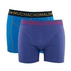 MuchachoMalo Boxershorts - 2-pak (Lilla og Blå)