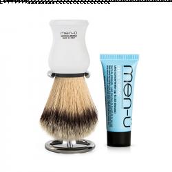 Men-Ü Barberkost og holder Premier (Hvid)
