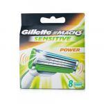 Gillette MACH3 Sensitive Power Barberblade (8-pak)