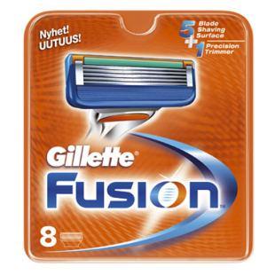 Gillette Fusion Barberblade (8-pak)