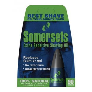 Somersets Extra Sensitive Barberolie (15 ml)