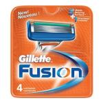 Gillette Fusion Barberblade (4-pak)