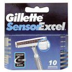Gillette Sensor Excel barberblade (10-pak)